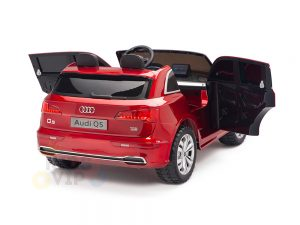 KIDSVIP 2 Seater 24v ride on car audi for kids and toddlers remote red 23
