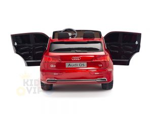 KIDSVIP 2 Seater 24v ride on car audi for kids and toddlers remote red 24