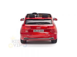 KIDSVIP 2 Seater 24v ride on car audi for kids and toddlers remote red 25