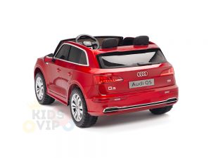KIDSVIP 2 Seater 24v ride on car audi for kids and toddlers remote red 26