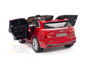 KIDSVIP 2 Seater 24v ride on car audi for kids and toddlers remote red 27