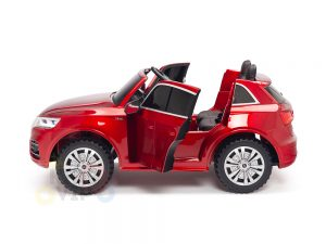 KIDSVIP 2 Seater 24v ride on car audi for kids and toddlers remote red 28
