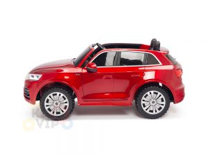 KIDSVIP 2 Seater 24v ride on car audi for kids and toddlers remote red 29