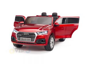 KIDSVIP 2 Seater 24v ride on car audi for kids and toddlers remote red 31