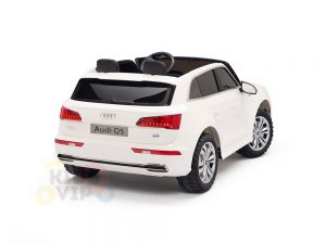 kidsvip 24v 2 seater audi q5 ride on car for kids and toddlers white 11