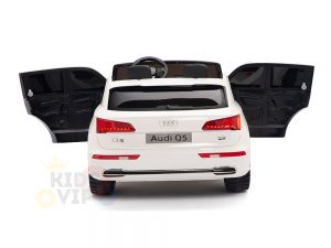 kidsvip 24v 2 seater audi q5 ride on car for kids and toddlers white 15