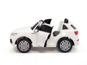 kidsvip 24v 2 seater audi q5 ride on car for kids and toddlers white 19
