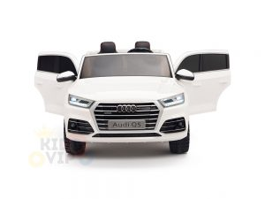 kidsvip 24v 2 seater audi q5 ride on car for kids and toddlers white 2