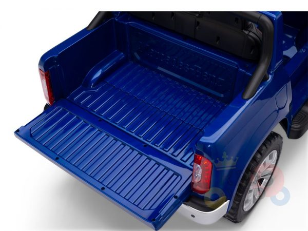 kidsvip mercedes x kids and toddlers ride on car truck 2x12v batteries blue 9 1