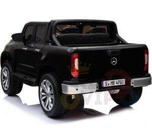 mercedes benz x unimog kids ride on car black 5