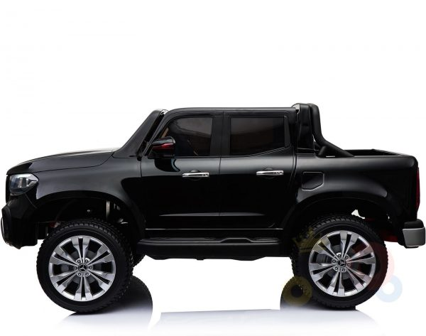mercedes benz x unimog kids ride on car black 6