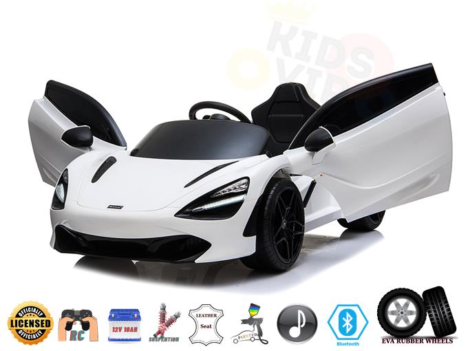 Licensed McLaren 720S Ugraded Ride On Super Car with Remote Control