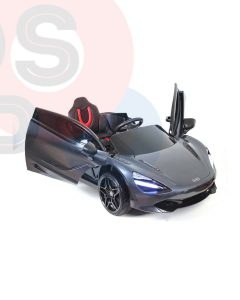 kidsvip mclaren 720s kids toddlers ride on car sport powered 12v rubber wheels leather seat rc black 11