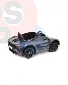 kidsvip mclaren 720s kids toddlers ride on car sport powered 12v rubber wheels leather seat rc black 12