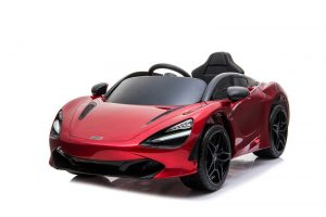 kidsvip mclaren 720s kids toddlers ride on car sport powered 12v rubber wheels leather seat rc red 17