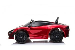 kidsvip mclaren 720s kids toddlers ride on car sport powered 12v rubber wheels leather seat rc red 18