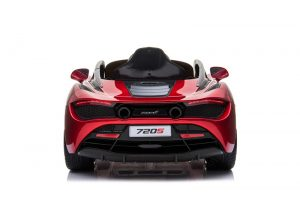 kidsvip mclaren 720s kids toddlers ride on car sport powered 12v rubber wheels leather seat rc red 20