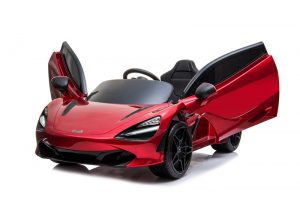 kidsvip mclaren 720s kids toddlers ride on car sport powered 12v rubber wheels leather seat rc red 23
