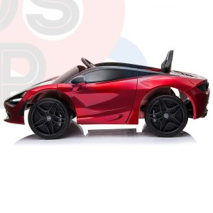 kidsvip mclaren 720s kids toddlers ride on car sport powered 12v rubber wheels leather seat rc red 27