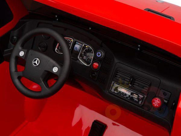 kidsvip zetros 24v kids ride on car 2 seater red 10