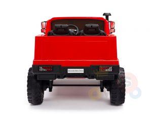 kidsvip zetros 24v kids ride on car 2 seater red 12