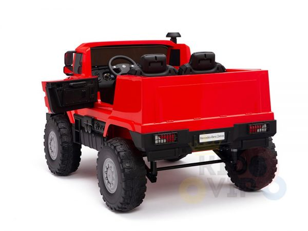 kidsvip zetros 24v kids ride on car 2 seater red 14