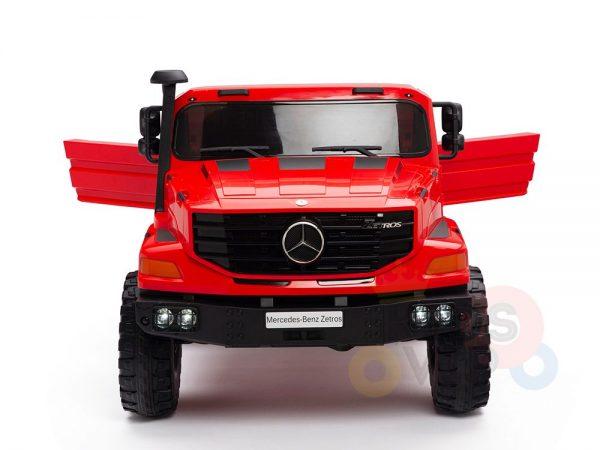 kidsvip zetros 24v kids ride on car 2 seater red 2