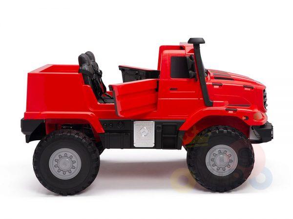 kidsvip zetros 24v kids ride on car 2 seater red 7