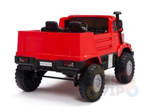kidsvip zetros 24v kids ride on car 2 seater red 9