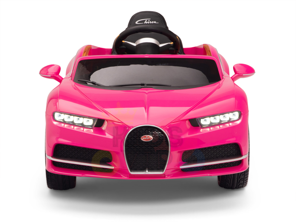 Pink Official Bugatti Chiron Kids Ride On Car Kids Vip