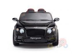 KIDSVIP BENTLEY KIDS RIDE ON CAR 12V SUPERSPORT black 1 1