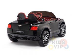 KIDSVIP BENTLEY KIDS RIDE ON CAR 12V SUPERSPORT black 12