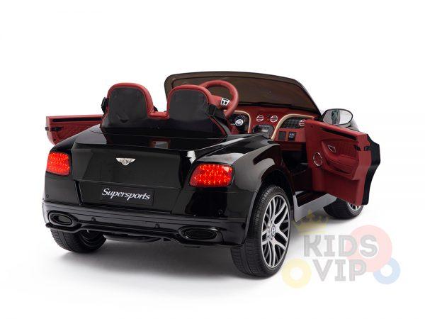 KIDSVIP BENTLEY KIDS RIDE ON CAR 12V SUPERSPORT black 13 1