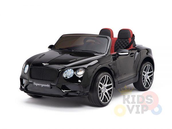 KIDSVIP BENTLEY KIDS RIDE ON CAR 12V SUPERSPORT black 23 1
