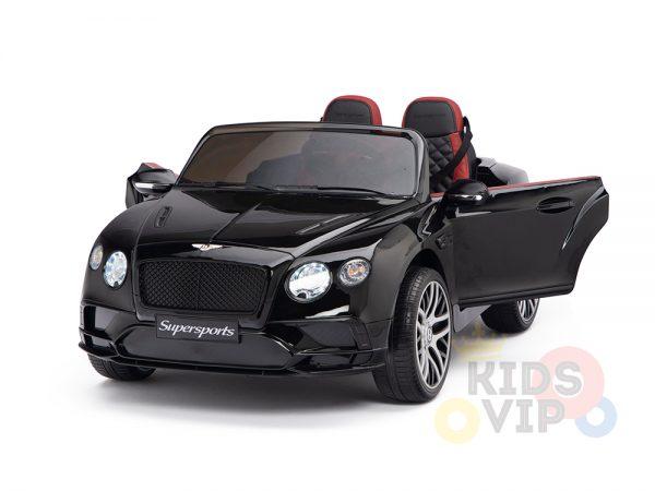 KIDSVIP BENTLEY KIDS RIDE ON CAR 12V SUPERSPORT black 27 1