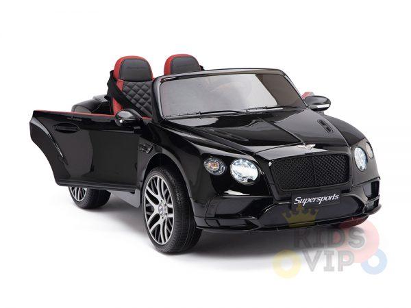 KIDSVIP BENTLEY KIDS RIDE ON CAR 12V SUPERSPORT black 4 1