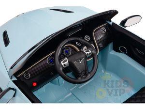 KIDSVIP BENTLEY KIDS RIDE ON CAR 12V SUPERSPORT blue 8 1