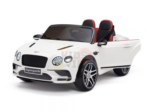 KIDSVIP BENTLEY KIDS RIDE ON CAR 12V SUPERSPORT white12