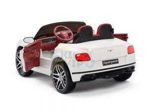 KIDSVIP BENTLEY KIDS RIDE ON CAR 12V SUPERSPORT white8