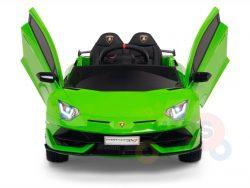 KIDS VIP 12V RIDE ON CAR LAMBORGHINI AVENTADOR KIDS GREEN 2