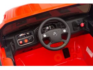 kids vip 12 mercedes benz zetros red ride on car 12