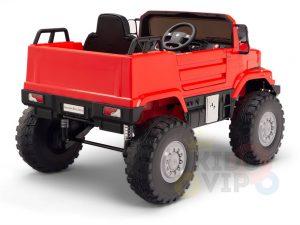 kids vip 12 mercedes benz zetros red ride on car 13