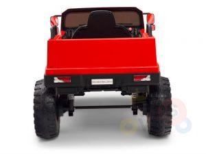 kids vip 12 mercedes benz zetros red ride on car 14