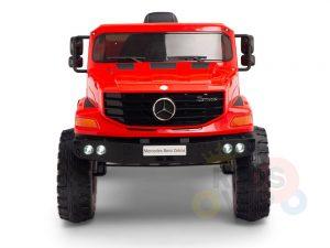 kids vip 12 mercedes benz zetros red ride on car 2