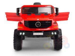kids vip 12 mercedes benz zetros red ride on car 3