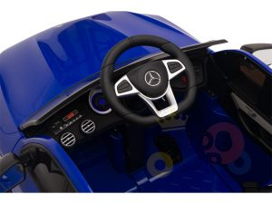 kidsvip mercedes benz glc63 glc suv kids and toddlers ride on car 4wd 4x4 12v leather seat rubber wheels blue 22