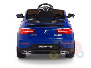 kidsvip mercedes benz glc63 glc suv kids and toddlers ride on car 4wd 4x4 12v leather seat rubber wheels blue 23