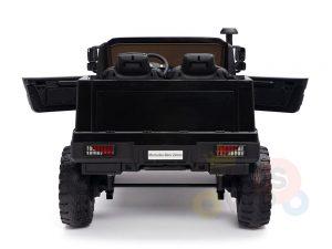kidsvip zetros 24v kids ride on car 2 seater black 14