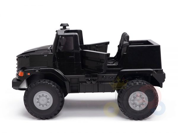 kidsvip zetros 24v kids ride on car 2 seater black 18