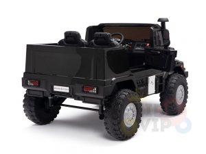 kidsvip zetros 24v kids ride on car 2 seater black 9